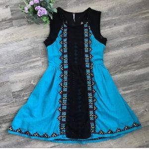 Free People Festive Lace Dress